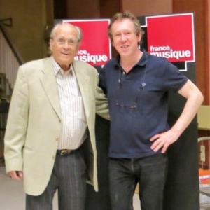 Michel Legrand & Benoît Duteurtre, studio 119, 02 septembre 2017