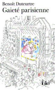 Gaieté parisienne, couverture folio par Sempé